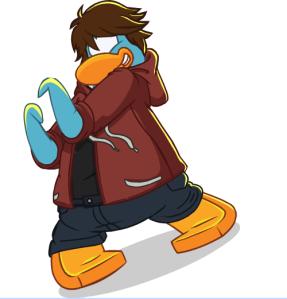 Pinguino Celeste
